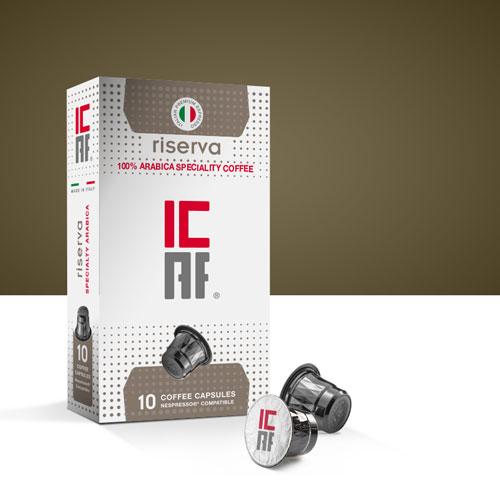 Capsule compatibili nespresso classico riserva icaf