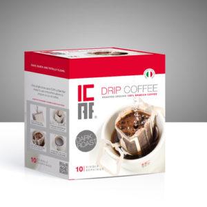 Icaf drip coffee caffè filtro