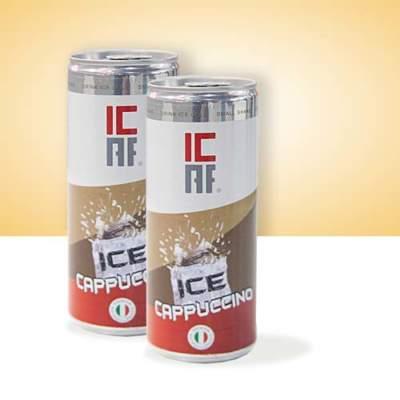 Ice cappuccino freddo ghiaccio