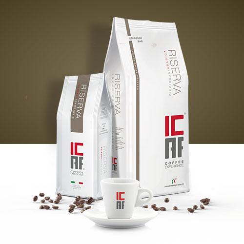 Specialty coffee Riserva 12 grani 100% arabica ICAF