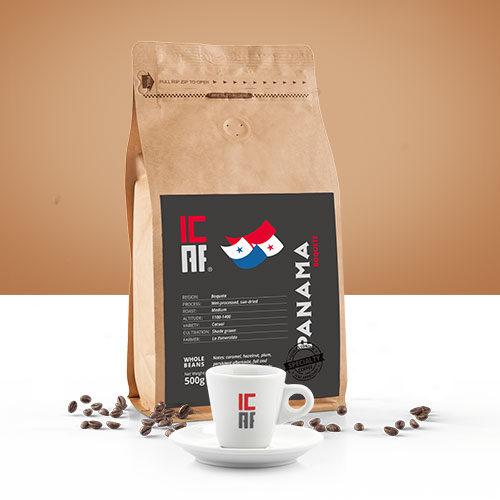 Specialty coffee, caffè monorogine, panama icaf