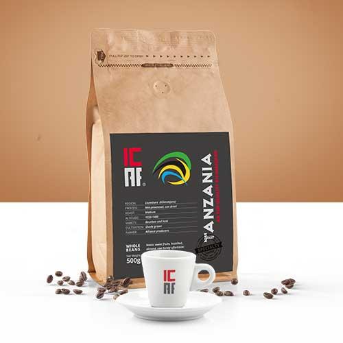 Specialty coffee, caffè monorogine, tanzania icaf